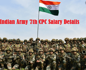 Inidian Army salary
