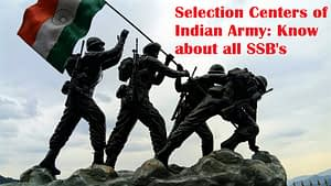 Selection Centers of India Arm