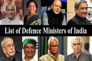 Defence Ministers of India