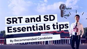 SSB SRT and SD Tips