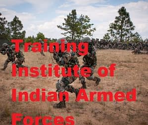 Full List of Training Institute of Indian Army