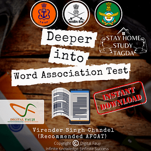 Deeper into Word Association Test