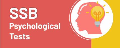 SSB Psychological tests