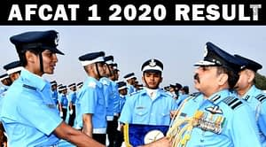 AFCAT 2020 Result